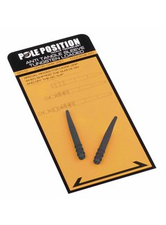 STRATEGY POLE POSITION Anti-Tangle Sleeves - Tungsten (10st)