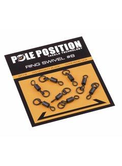 STRATEGY POLE POSITION Ring Swivel #8 (8st)