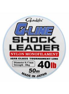 Gamakatsu GAMAKATSU G-LINE Shock Leader (0.47-0.70mm) (50m)