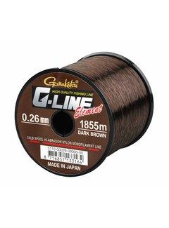 Gamakatsu GAMAKATSU G-LINE Element Dark Brown (0.26-0.35mm) (920m-1820m)