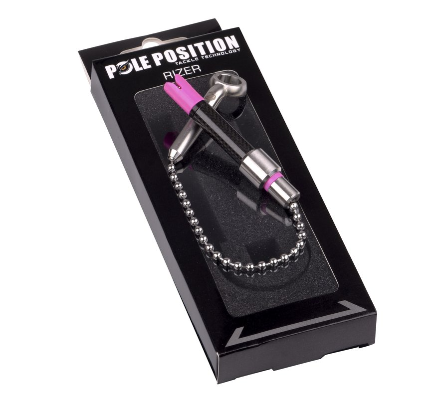 POLE POSITION Rizer Hanger Stainless Black Edition