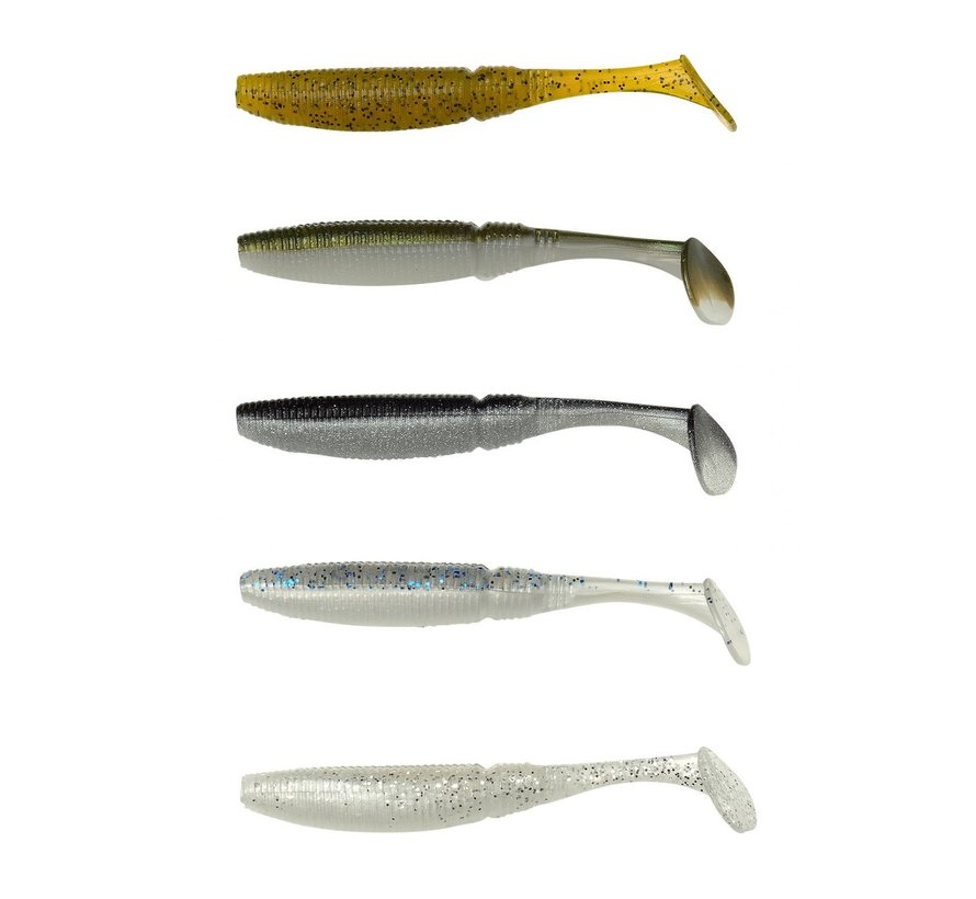 SPRO Powercatcher Micro Shad Natural Pack