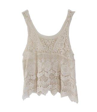 Avi Crochet top