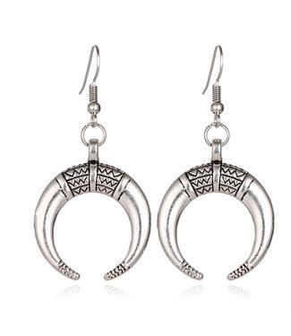 Tribal Moon earrings
