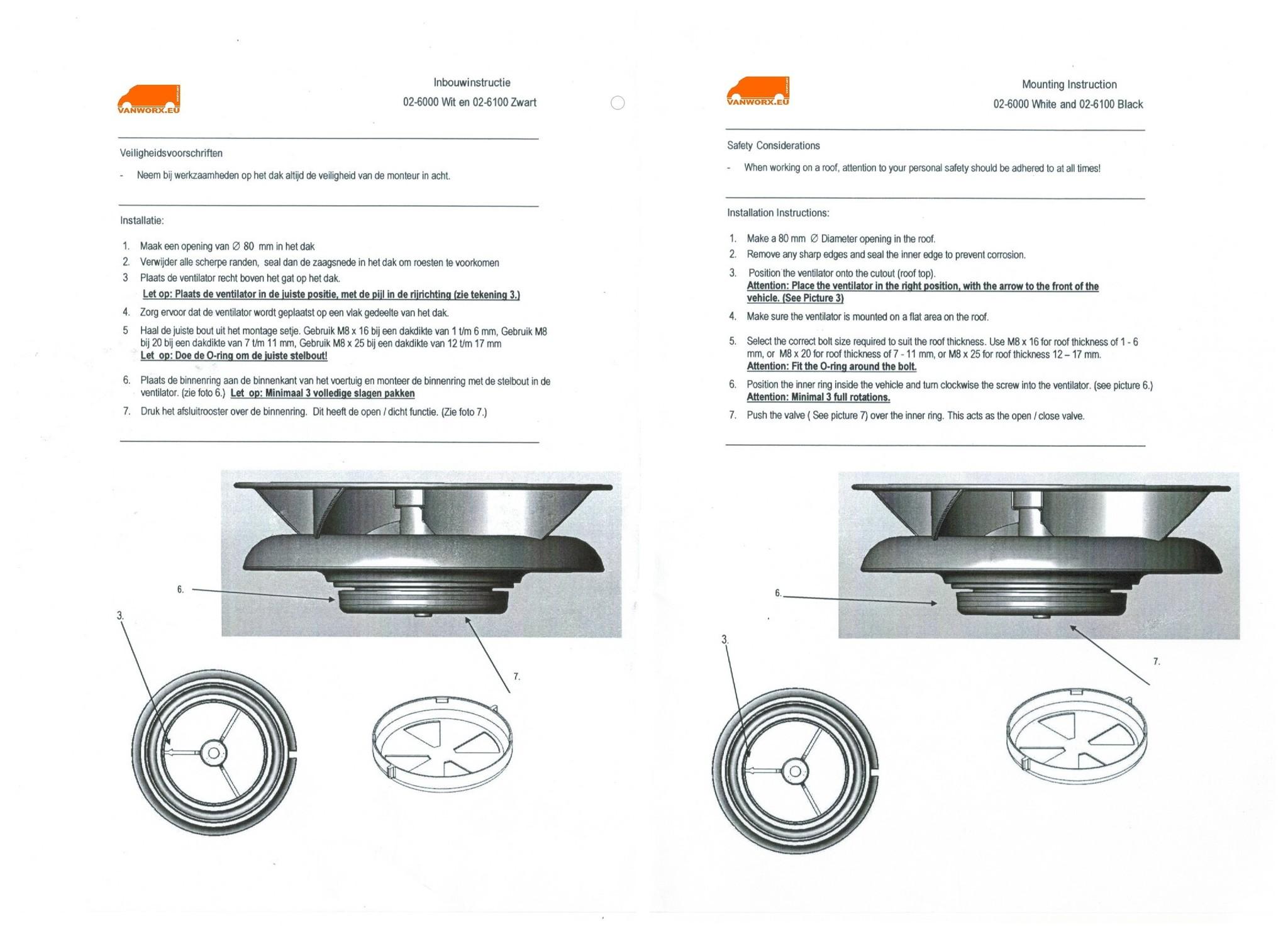 Montagehandleiding Turbo 3