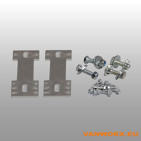 Universal mounting set