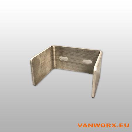 Aluminium U-Profiel 30902019 Teranda