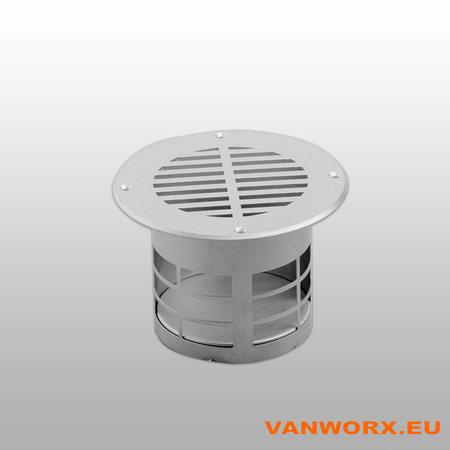 Grille de ventilation du plancher Ø 83mm