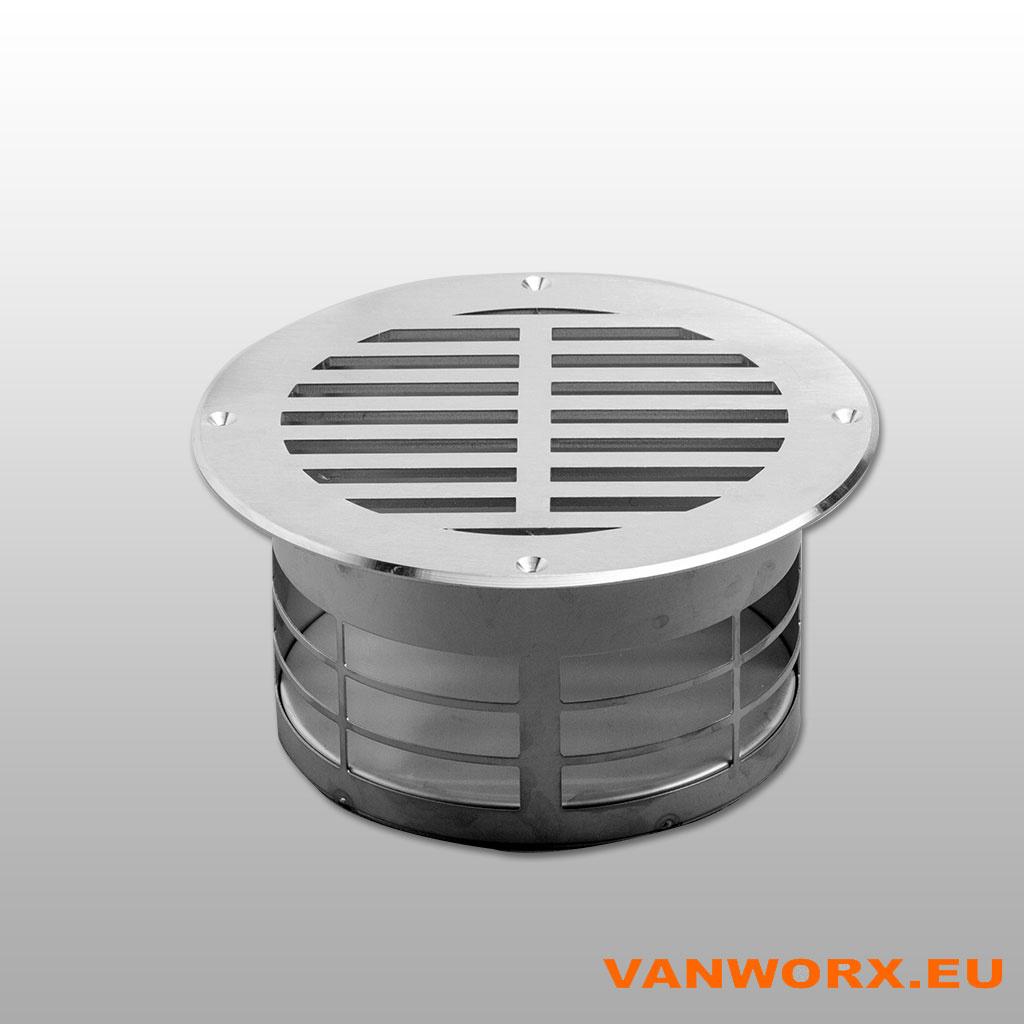 Floor ventilation grate