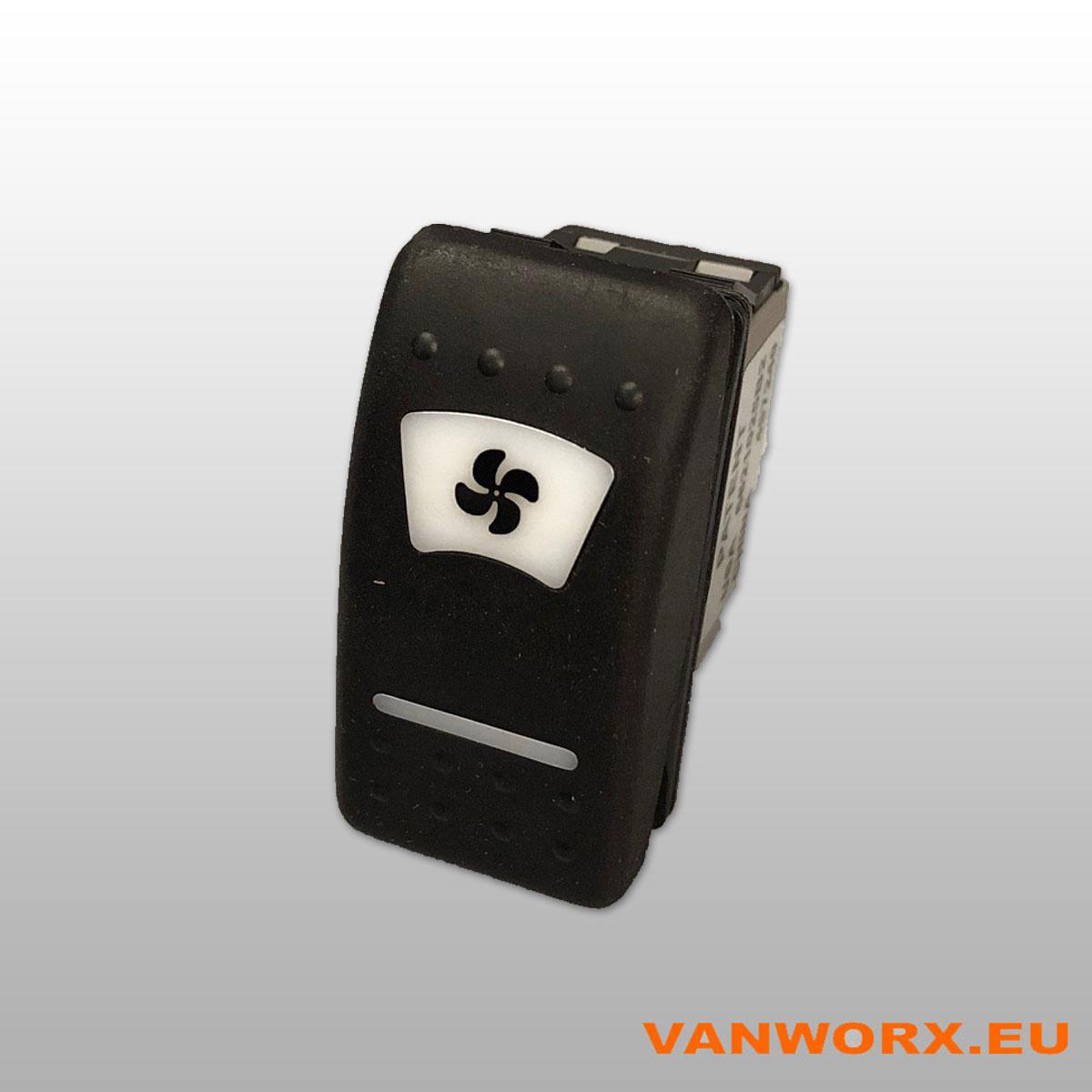3 step switch with symbol