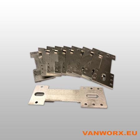 Aluminium Montagebeugels