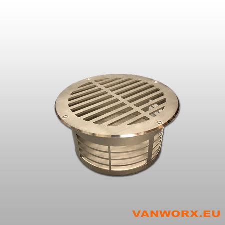 Grille de ventilation du plancher Ø 160mm