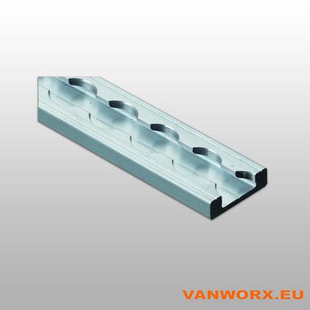 Rail d'arrimage en aluminium light