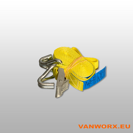 Tensioning belt  with hook 25 x 3000 mm
