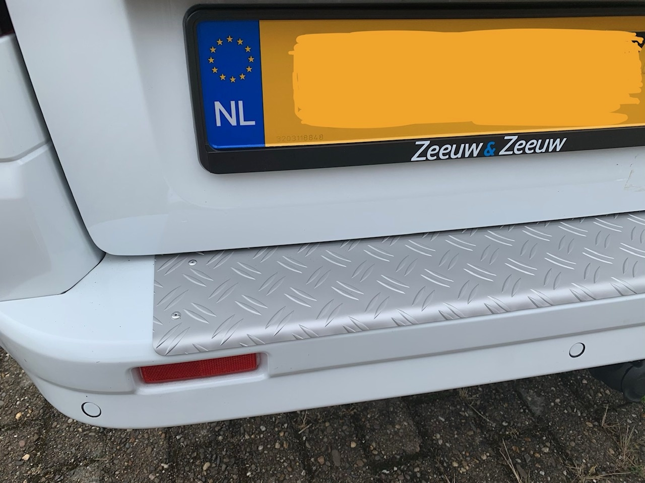 Bumper protection Renault Trafic