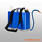 ShoulderSink-Seife, Wasser und Papier