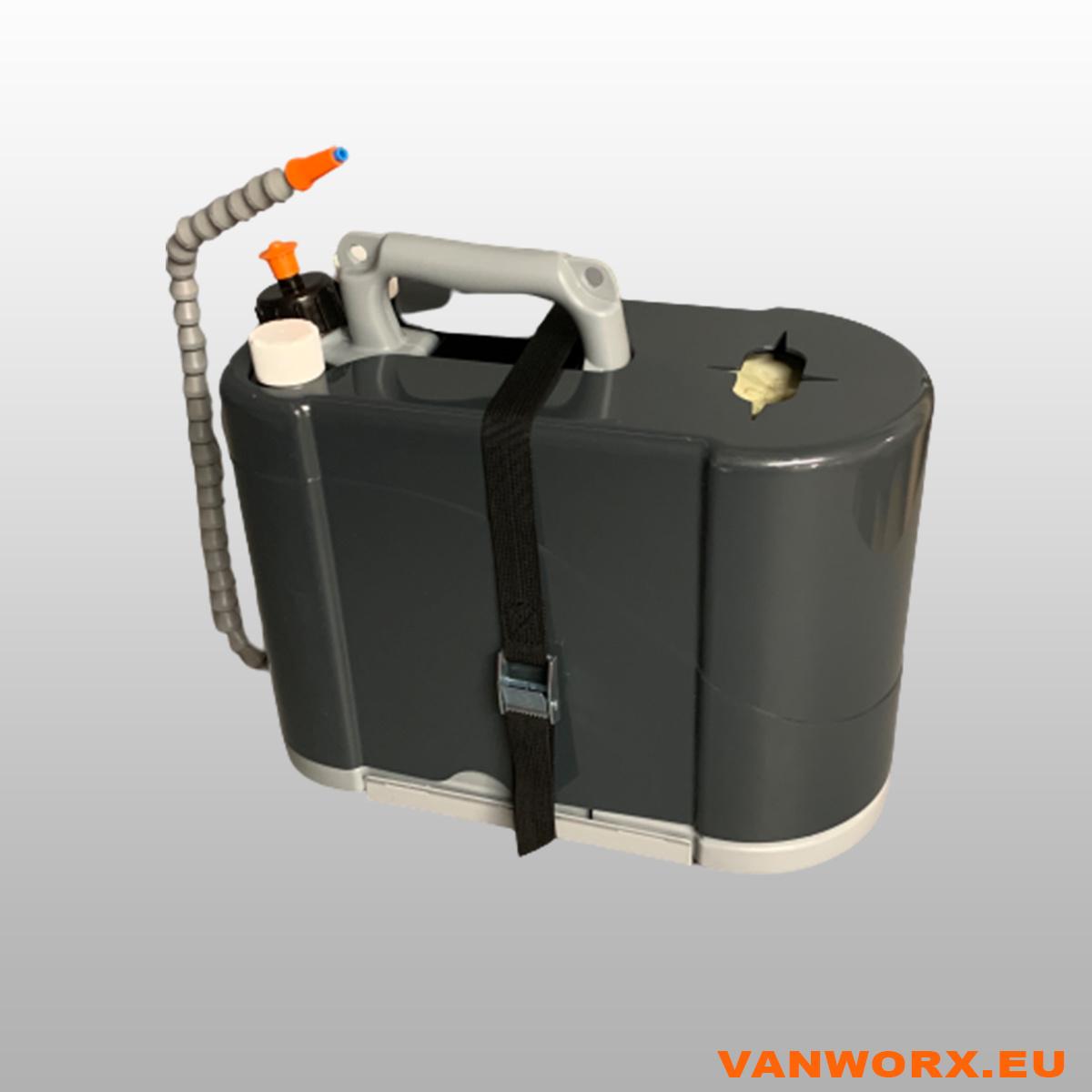 ShoulderSink- Zeep, water en papier
