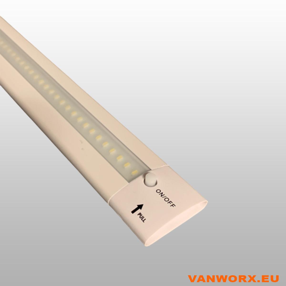 LED strip ALU Wit 500 mm