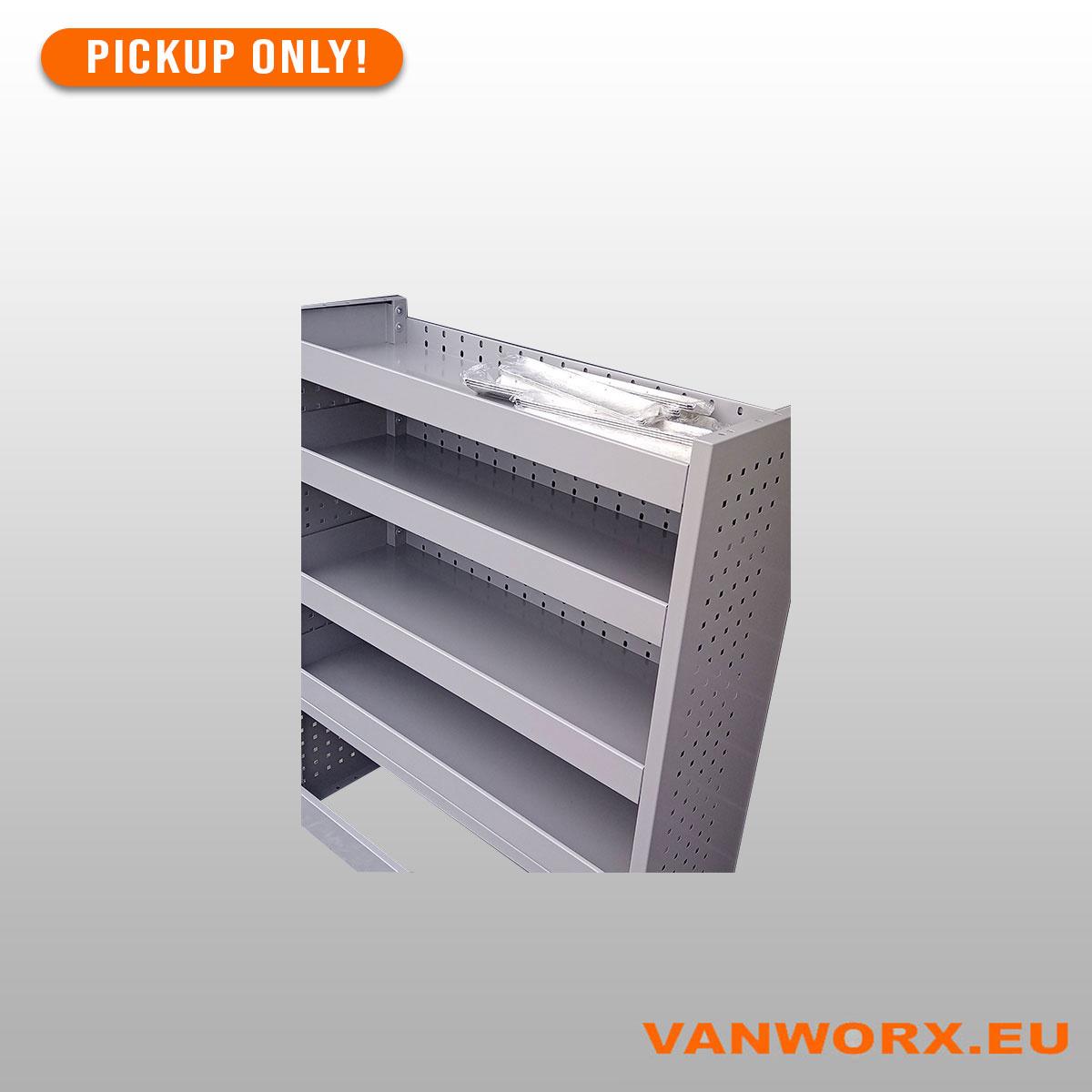 Module de rangement en aluminium