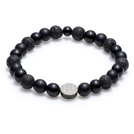 Sem Lewis Piccadilly South Kensinton bead bracelet black (8 mm bead)
