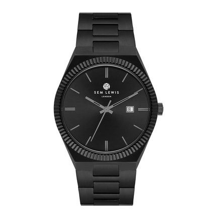 Sem Lewis Aldgate watch black