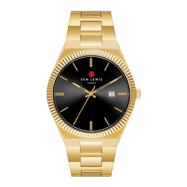Sem Lewis Aldgate orologi color oro e nero