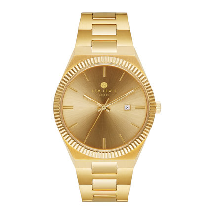 Sem Lewis Aldgate watch gold colored