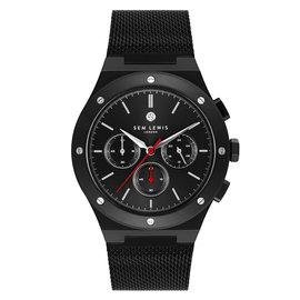 Sem Lewis Moorgate orologio cronografo nero