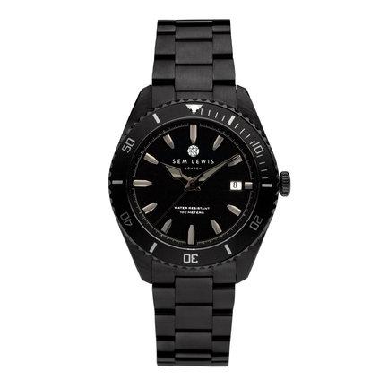 Sem Lewis Lundy Island Diver montre noir