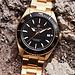 Sem Lewis Lundy Island Diver horloge goudkleurig en zwart