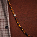 Sem Lewis Piccadilly South Kensington beaded necklace brown