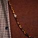 Sem Lewis Piccadilly South Kensington collier de perles marron