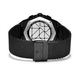Sem Lewis Moorgate chronograaf horloge zwart