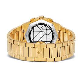 Sem Lewis Moorgate kronograf klocka guldfärgad