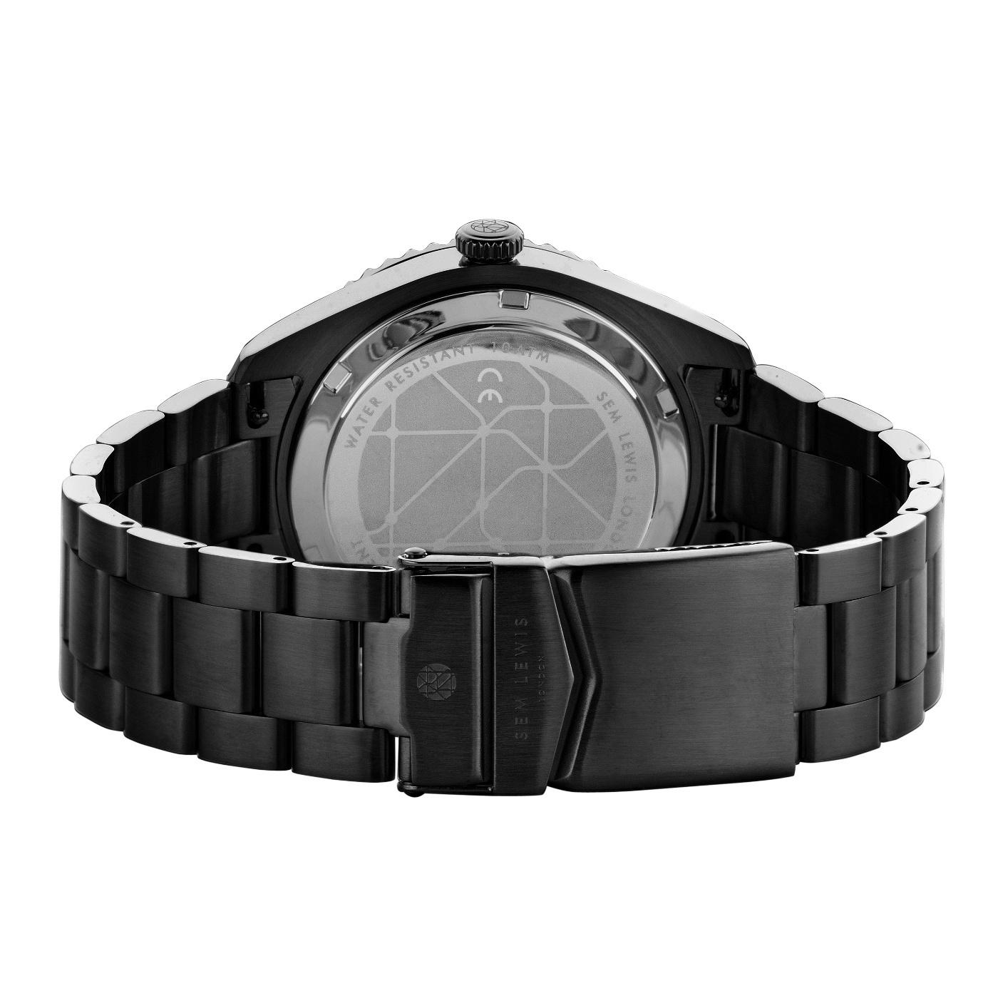 Sem Lewis Lundy Island Diver orologi nero