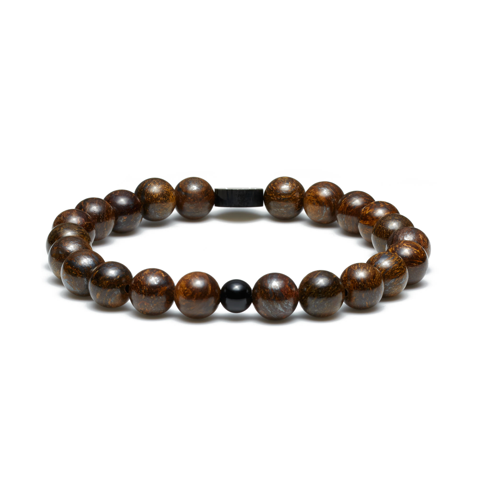 Sem Lewis Piccadilly South Kensington bracelet en perles marron