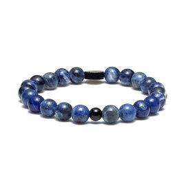 Sem Lewis Piccadilly South Kensington bracelet en perles bleu (perles de 8 mm)