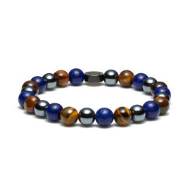 Sem Lewis Piccadilly South Kensington beaded bracelet multi-colored