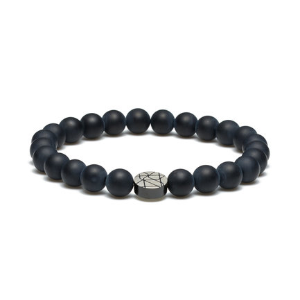 Sem Lewis Piccadilly South Kensington beaded bracelet black