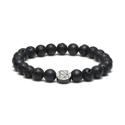 Sem Lewis Piccadilly South Kensington bracelet en perles noir