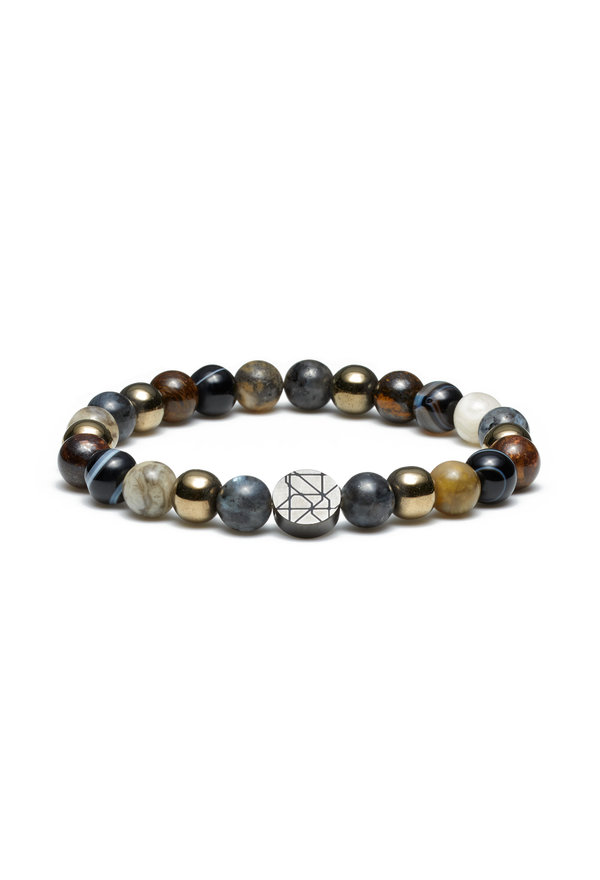 Sem Lewis Piccadilly South Kensington beaded armbånd