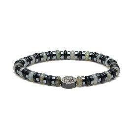 Sem Lewis Piccadilly South Kensington braccialetto di perline multicolore