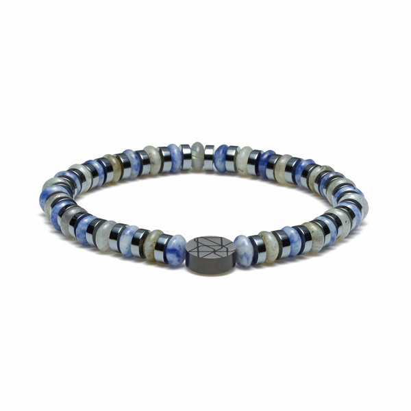 Sem Lewis Piccadilly South Kensington kralenarmband blauw