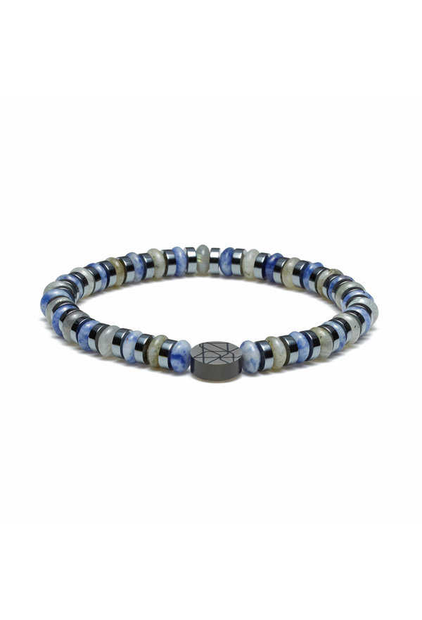 Sem Lewis Piccadilly South Kensington beaded armbånd blå