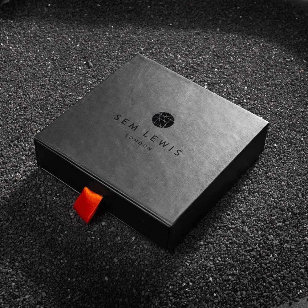Sem Lewis Bakerloo Paddington leather bracelet black
