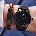 Sem Lewis Bakerloo Paddington leren armband cognac