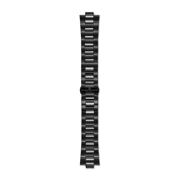 Sem Lewis Aldgate bracelet de montre en acier 24 mm noir