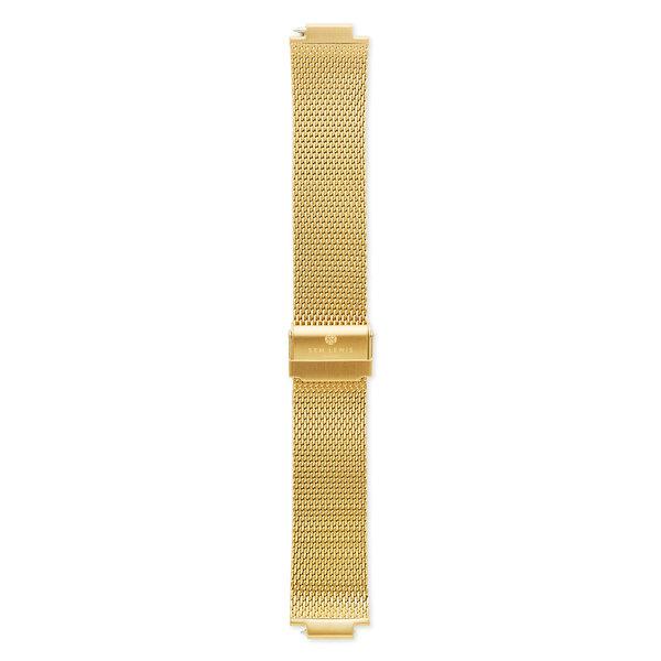 Sem Lewis Moorgate klockarmband i stålnät 24 mm guldfärgad