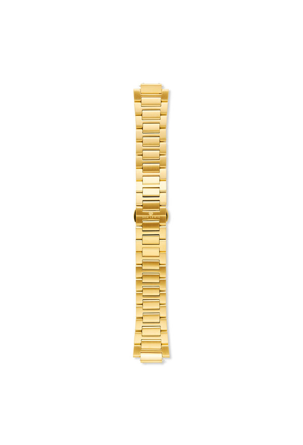 Sem Lewis Aldgate armband i stålmesh 24 mm guldfärgat