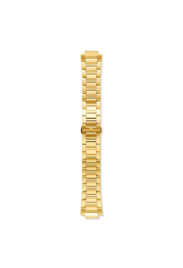 Sem Lewis Moorgate stalen horlogeband 24mm goudkleurig